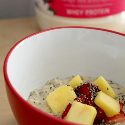 Protein Porridge Recipe | thesewist.me